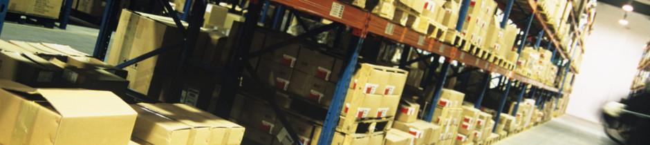 Lagerung - Verpackung - Versand